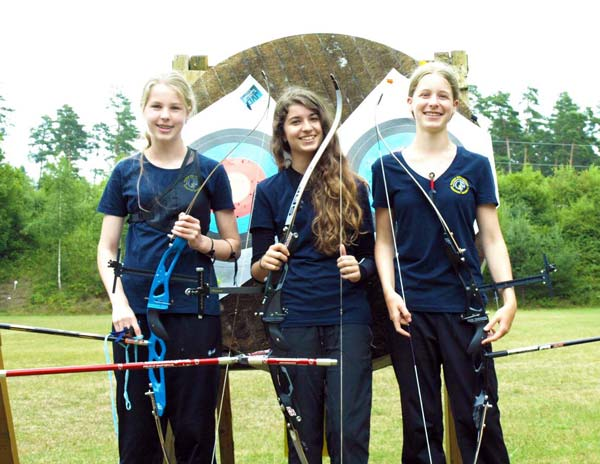 Landkreis Miltenberg - Amorbach - Bogensport - Schulsport-Meisterschaften 2014