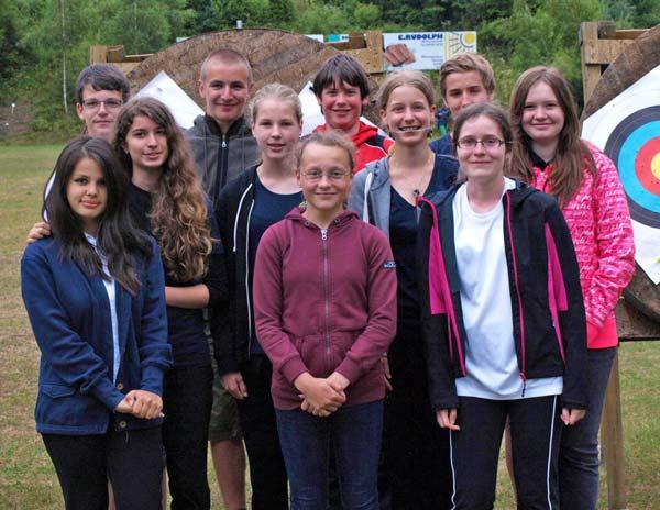 Landkreis Miltenberg - Amorbach - Bogensport - Alle Teilnehmer der Schulsport-Meisterschaften 2014